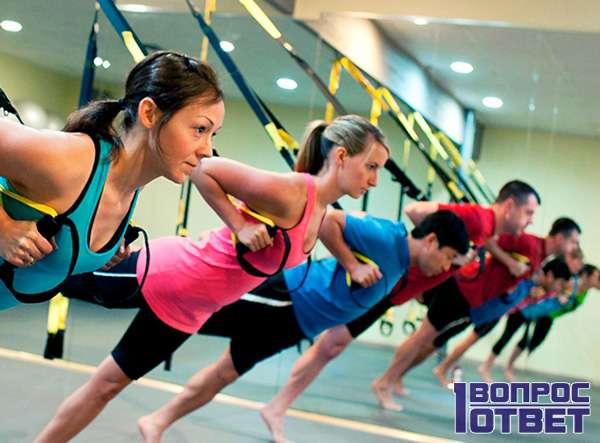 Дневные упражнения девушек