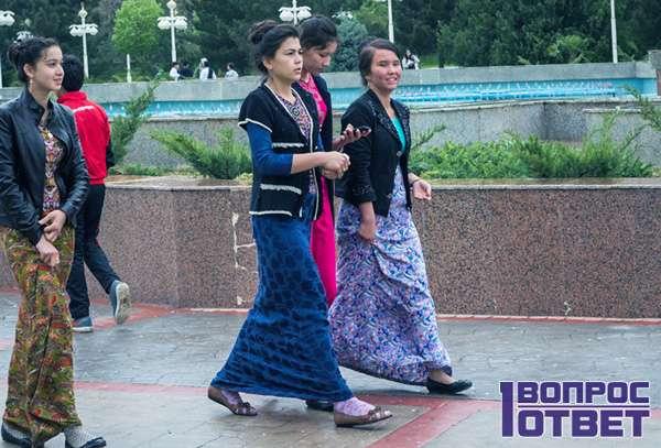 Простые люди Туркменистана