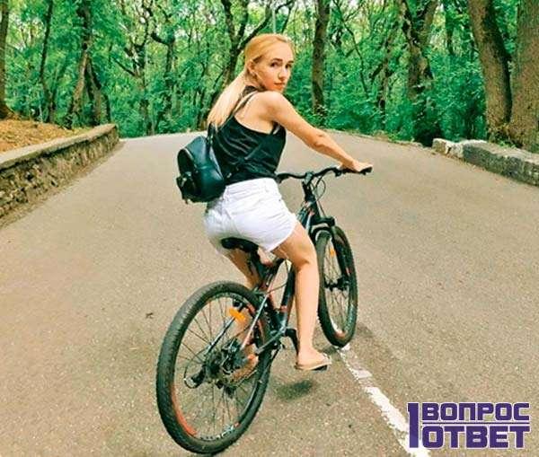 Всегда мечтала о велосипеде