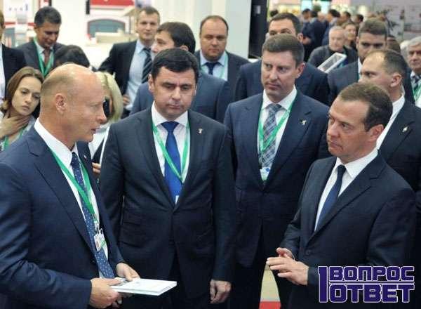 На встрече с Медведевым